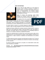 Muere el escritor portugués José Saramago