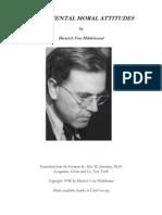 Fundamental Moral Attitudes by Dietrich Von Hildebrand