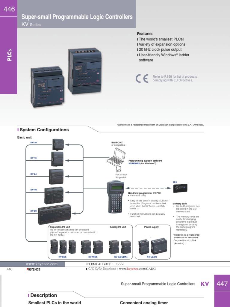 Keyence-KV | Programmable Logic Controller | Bipolar