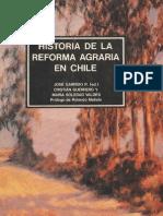Historia de La Reforma Agraria en Chile