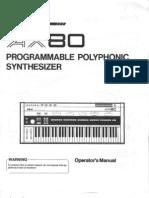 Akai AX80 Owners Manual