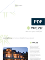 Verve Whole House Lighting Control 10.09