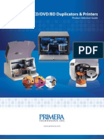 Primera CD Dvd All Product Brochure