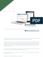 PatientOrderSets.com Entrypoint