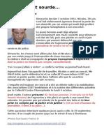La Police et la Justice de Bordeau homophobes (?)