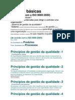 A gestão da qualidade e a série ISO 9000