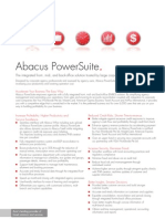 Abacus Power Suit Datasheet