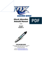 Fox Shocks Float and Float 2 Rebuild