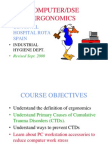 DSE Ergonomics & Safety