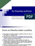 As filosofias políticas