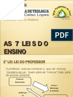 As 7 Leis Do Ensino