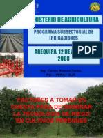 Consideraciones Técnicas Para Diseño Agronómico en Frutales - Ing