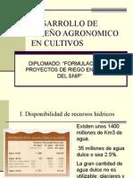 Diseño Agronómico en Frutales - Ing