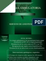 ANESTESIA AMBULATORIA