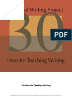 30 Writing Projects
