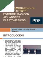 ANÁLISIS MODAL ESPECTRAL EN ESTRUCTURAS CON AISLADORES ELASTOMÉRICOS