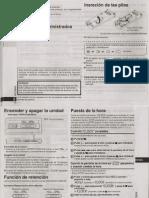 Grabadora Digital de Voz Panasonic_RR-US591 RR-US571 RR-US551
