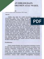 Cantuman Bibliografi_Wakil Dokumen atau Wakil Karya?_Irma U. Aditirto
