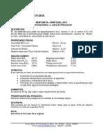 Bentonita Caracteristicas API