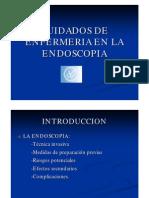 Enfermeria en Endoscopia