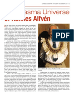 The Plasma Universe of Hannes Alfvén