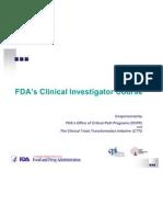 FDA on Safety
