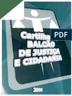 Cartilha do Balcão de Justiça e Cidadania