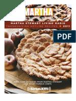 Martha Stewart Living Radio-Thanksgiving Hotline Recipes 2011