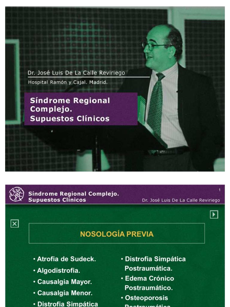 Sindrome Regional Complejo - Dolor - Diagnóstico médico