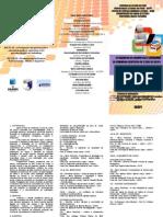 Folder Encontro Linguistica