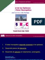 Papel de Los Opiaceos en El Dolor Neuropatico I