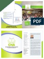 Revista Consejo Nacional Anticorrupción [CNA] Abril a Sep 2011