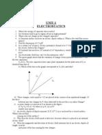 physics excellent questions