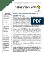 Hidrocarburos Bolivia Informe Semanal Del 14 Al 20 Noviembre 2011