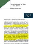 Eugenio Fernandez García Elementos Para Una Teoría Del Sujeto en Spinoza
