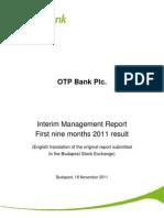 Rezultate OTP Bank