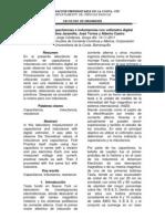 Medición de capacitancias e inductancias con voltímetro digital
