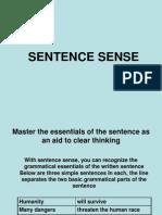 Sentence Sense