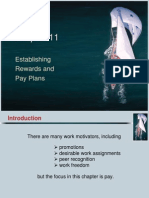 Ch11, Establishing Rewards & Pay Plans