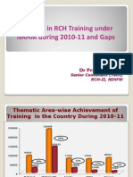 Final Presentation on Training Analysis- 13-15 July 2011