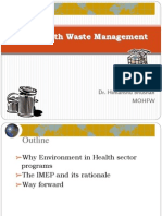 Health Waste Management