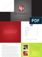 St. Vinnie's Media Plan