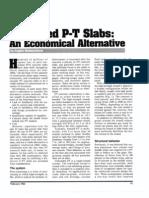 Unbond PT Slab Economic Alt