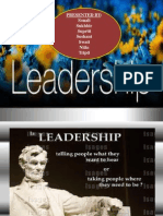 Behavioral Theories of Leadership