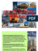 DESTRUCTIVE TESTING OF WELDS IN WPS_PQR PREPARATION