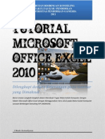 Tugas Komputer Tutorial Microsoft Office Excel 2010 Book Edition