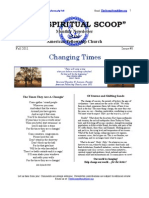 The Spiritual Scoop - Issue #8 - Help Change