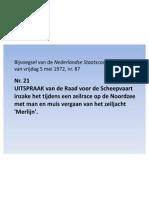 Onderzoeksrapport Raad Vd Scheepvaart Naar Ongeluk Daamen en Merlijn