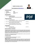CV de Roberto Esparza