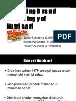 Managing Brand Strategy of Nutrisari